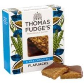Thomas.J.Fudge's marvellous milk chocolate flapjacks