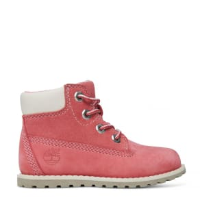 Timberland Pokey Pine 6 Inch Boot For Toddlers In Pink Pink Kids, Size 9 UK