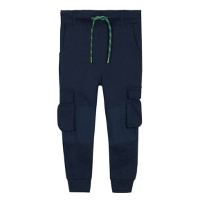 Mantaray - Boys' Navy Cardo Jogging Bottoms