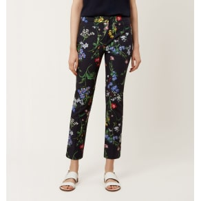 Annie Trouser Navy Multi 12