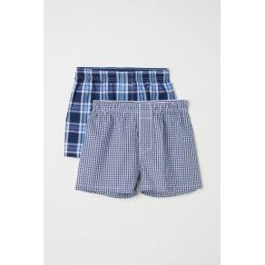 H & M - 2-pack boxer shorts - Blue