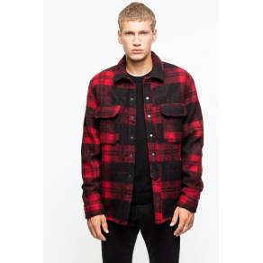 tacklo check cardigan