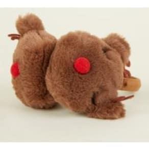Brown Faux Fur Reindeer Ear Muffs New Look