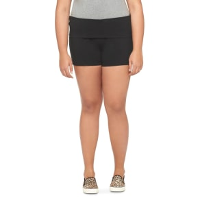 Women's Plus Size Lounge Shorts Black 4X-Mossimo Supply Co., Size: 4XL