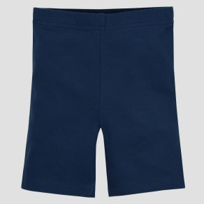 Gerber Graduates Baby Girls' Bike Shorts - Navy 12M, Blue