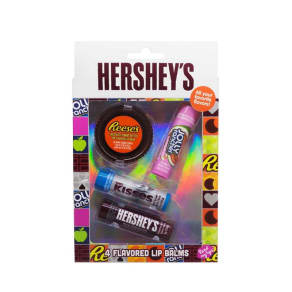 Hershey's - Set Of 4 Flavoured Lip Balm
