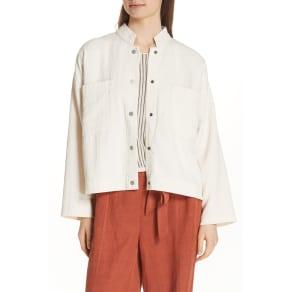Short Organic Cotton Jacket (Regular & Petite)