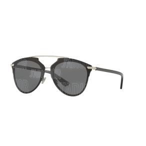 7d5689648b6 Dior Diorreflectedp 63 Black Square Sunglasses. Sunglass Hut