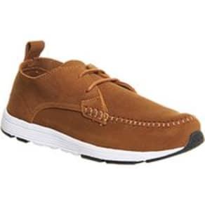 Farah Quan Lo Sneaker TAN SUEDE