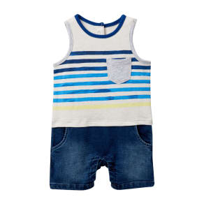 Out To Play Romper (Baby Boys 12-24M)