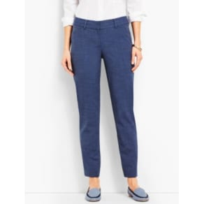 Talbots: Talbots Hampshire Ankle Pant: Heathered