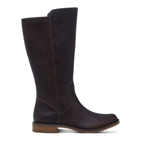 Timberland Magby Tall Boot For Women In Dark Brown Dark Brown, Size 4 UK