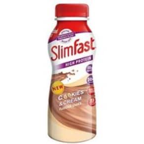Slimfast Cookies & Cream Flavour Shake