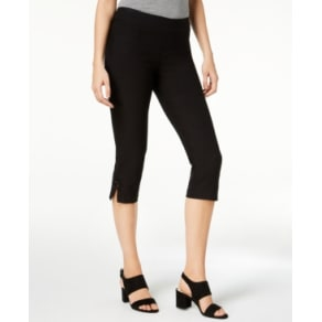 Lee Platinum Elena Embellished Capri Pants