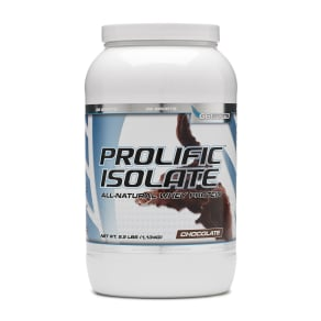 G6 Sports Prolific Isolate - Chocolate - 3 lb(s) - STI - Whey Protein