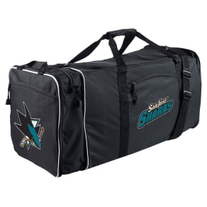 NHL San Jose Sharks 28 Steal Duffel Bag - Black