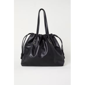 H & M - Shopper with zips - Black