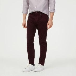 Club Monaco color Purple Super Slim Corduroy Pant in Size 34