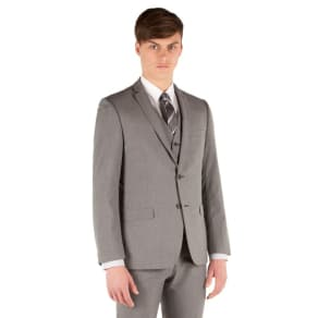 Red Herring - Grey Puppytooth 2 Button Slim Fit Suit Jacket