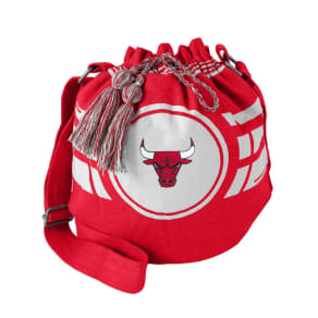 NBA Chicago Bulls Ripple Drawstring Bucket Bag, Adult Unisex
