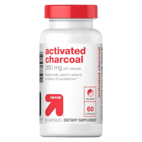 Activated Charcoal 260mg Dietary Supplement Capsules - 60ct - Up&Up