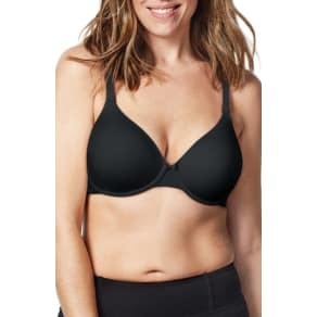 Women's Bravado Designs Belle Underwire Nursing Bra, Size 40G(4D) - Black