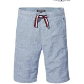Boys Tommy Hilfiger Boys Essential Blue Shorts -  White