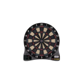 Cricketech 5 Electronic Dartboard, Black