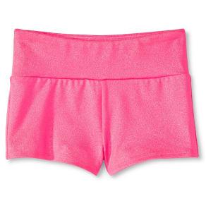 Girls' Shimmer Shorts - Circo Iris M, Pink