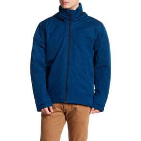 Front Zip Solid Climaproof Jacket