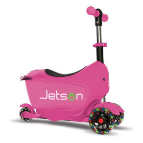 Jetson Cubby 3-In-1 Convertible Scooter - Pink