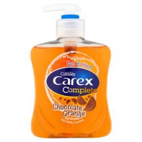 Carex Handwash Chocolate Orange