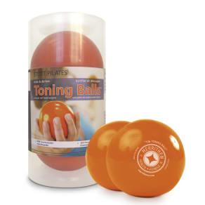 Stott Equipment Sales,stott Pilatesa(r) Toning Balla,,c/ Two-Pack - 1 Lbs (Orange)