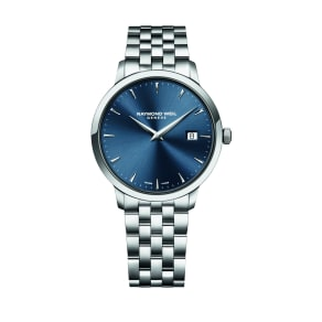 Raymond Weil Toccata Men's Blue Dial Stainless Steel Bracelet Watch