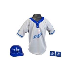 Franklin Sports Boys' Los Angeles Dodgers Four-Piece Team Set