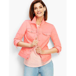 Talbots: The Classic Denim Jacket: Colored