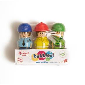 Hamleys Hero Bubbles 3-Pack