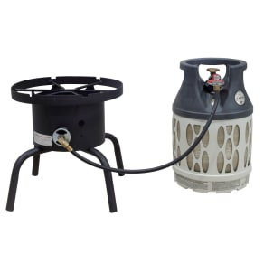 Camp Chef Single Burner Outdoor Cooker, Black