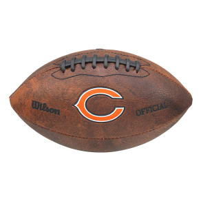 Wilson Chicago Bears Nfl 9-Inch Color Throwback Football