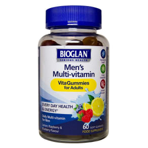 Bioglan Men's Multi-Vitamin Vitagummies - 60 Gummies