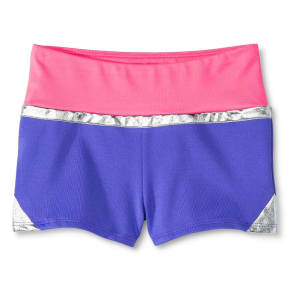 Girls' Color-Block Shorts Sunglow - Circo Pink M, Purple