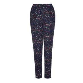 Ditsy Floral Print Soft Trousers
