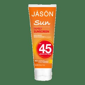 Jason Sunbrellas Family Natural Sunblock Spf45 113g - 113g, Green