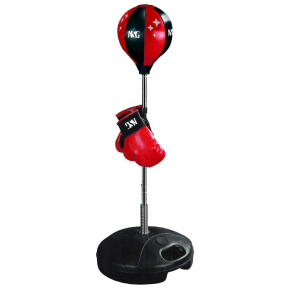 Nsg Freestanding Punching Bag, Red/Black