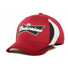 Budweiser Budweiser Bud Racing One-Fit Cap