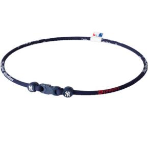 New York Yankees Phiten Mlb X30 Necklace