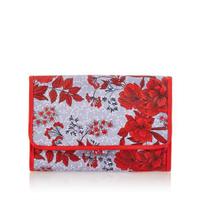 M&S Collection Water Colour Floral Hanging Washbag