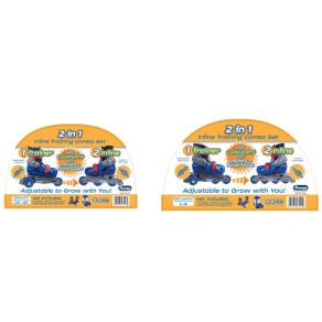 Chicago Boy's Training Skate Combo - Blue (Size1-4)
