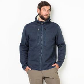 Jack Wolfskin Fleece Jacket Men Robson Jacket L Blue