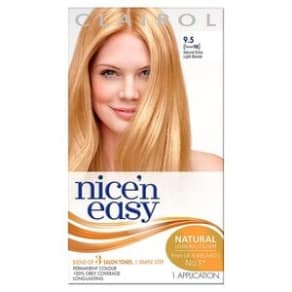 Nice'n Easy Permanent Hair Dye 9.5 Ex-Light Blonde Former 98, Blonde